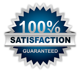 100% Satisfaction Guarentee